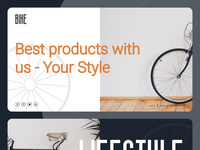 Bike - Website Design