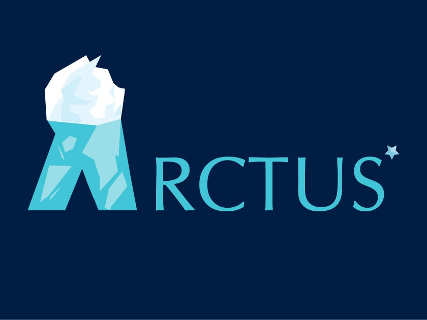 Arctus* - Toothpaste Product icon typography illustration freezing ice pallette cold cool flyer arctic arctus inspiration color branding adobe illustrator 2d creative design logo toothpaste