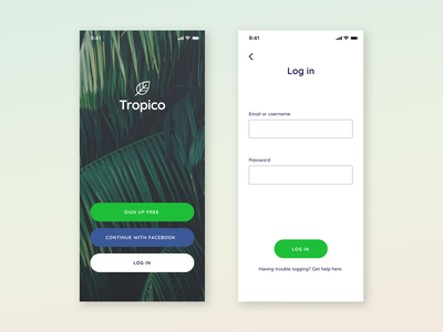 Daily UI 001 / Sign-up ui app signup page ui-design daily ui 001