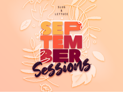 September Sessions paper plants poster flowers illustration