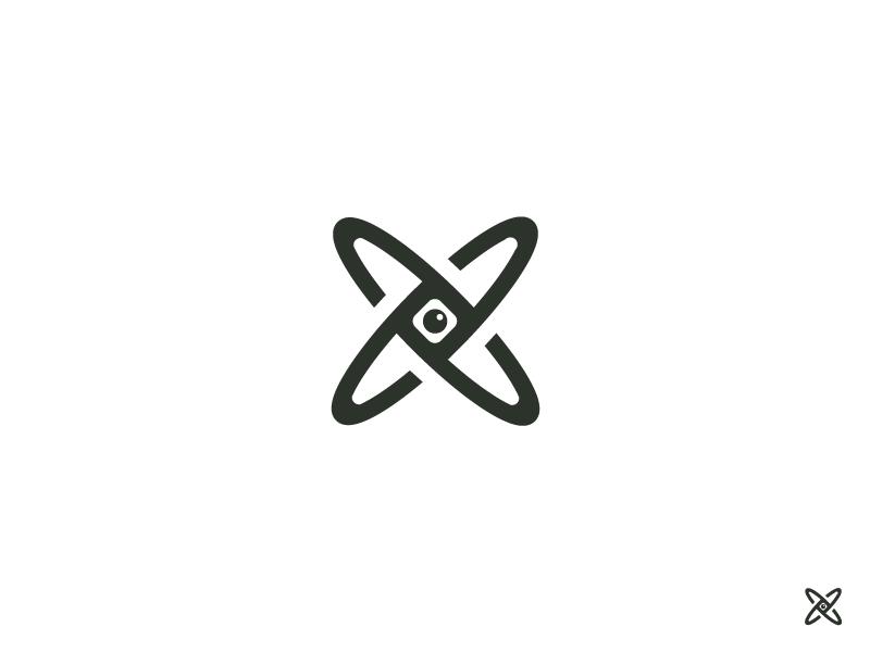 Orbital vision logo
