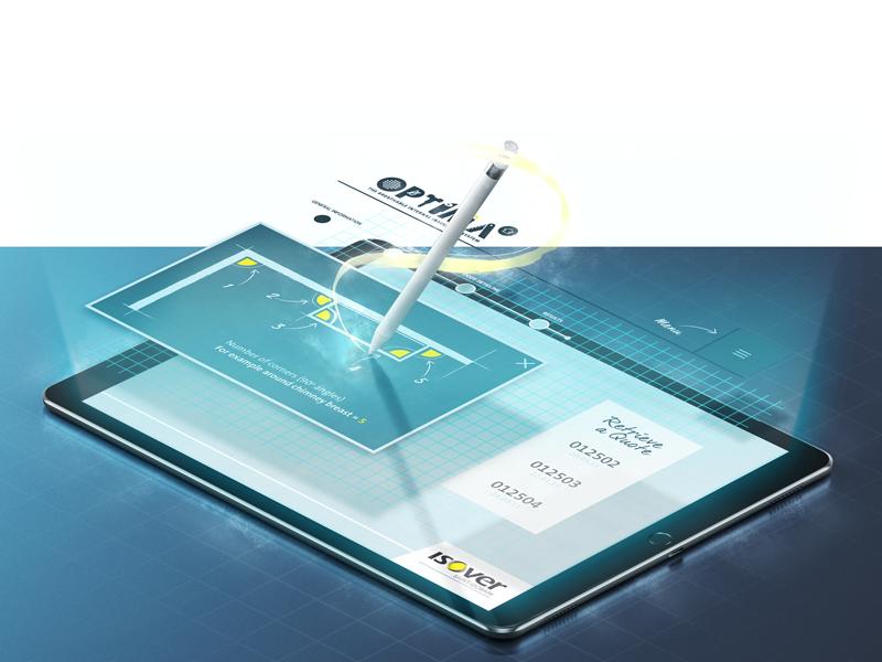 Optima pen graphic tablet app photoshop design