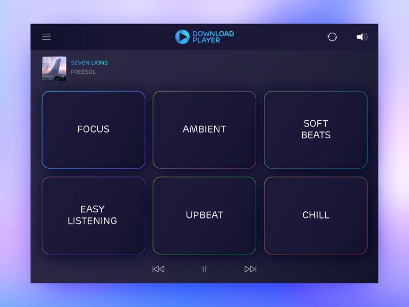 Download Player - Soundblock ux ui dashboard player music
