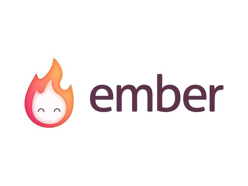Ember Gaming Network game art icon brand ember fire flame community game