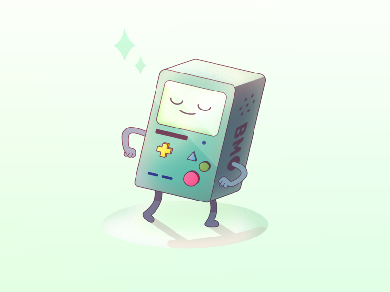 BMO doodle illustration character adventure time time adventure bmo