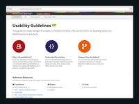 Usability Guidelines