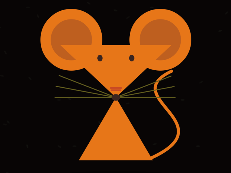 Coded Mouse processing canvas mouse
