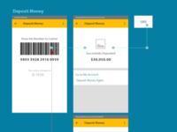 Deposit Money Concept