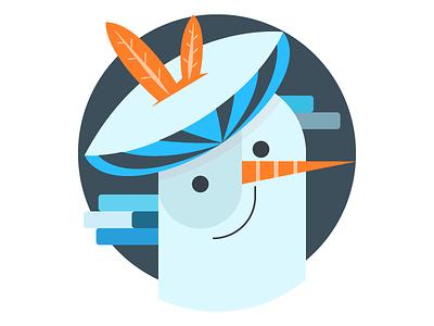 Snowman with hat snowman winter avatar