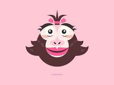 I believe I can fly illustrator monkey