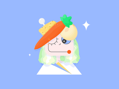 Carrot Lady vegetable potato onion carrot