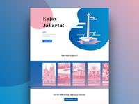 Microsite UI Exercise - Enjoy Jakarta!