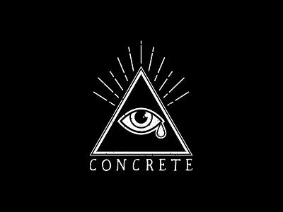 Concrete Sk8 Shop Logo identity branding logos logo durango concrete sk8 shop skateboarding skate
