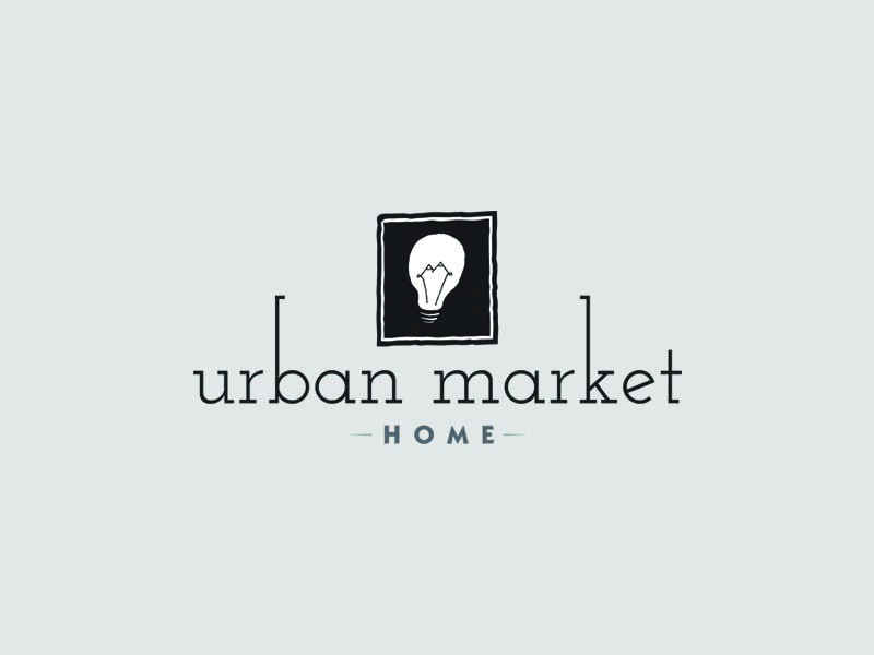 Urban Market Logo Home Decor Graphic Design Logos