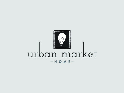 Urban Market Logo home decor urban home decor graphic design graphic logo design logos logo