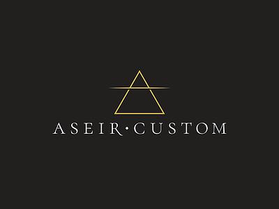 Aseir Custom Logo cosmetics vector graphic design logotype logo design branding logo