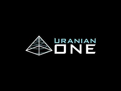 Uranian One Logo illustrator design vector logo design graphic design branding logo