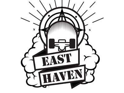 East Heaven roller skating logo