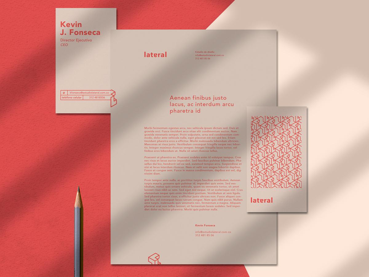 Lateral Estudio – Branding designer lateral logo colombia typography colombian logodesign isometric bussiness card letterheads branding design studio