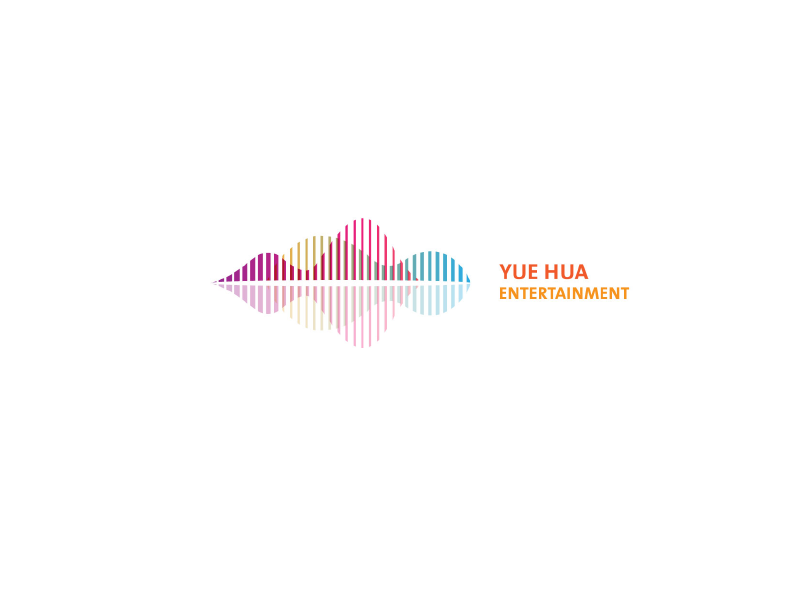 Music Entertainment Logo design yuehuaentertainment logodesign logo entertainment music