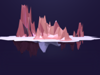 First Try at 3D: Low Poly Island