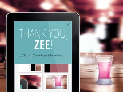 Thanks to Zee | Zeeshan Macchiwala for the invite!