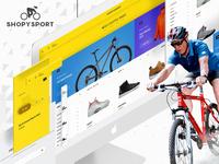 Shopysport Website UI/UX Design