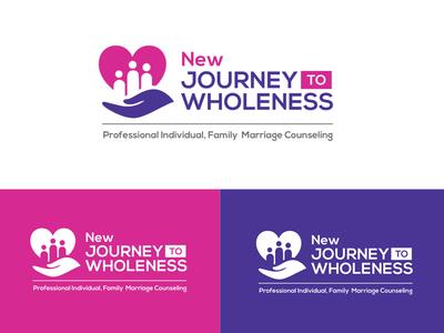 New Journey to Wholeness Logo Design design professional creative graphic branding business brand logos logo