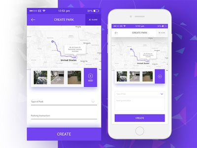 iOS Mobile App UI/UX Design