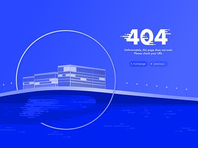 Daily UI Challenge #008 #404page digital circle blue ux ui berlin 404page