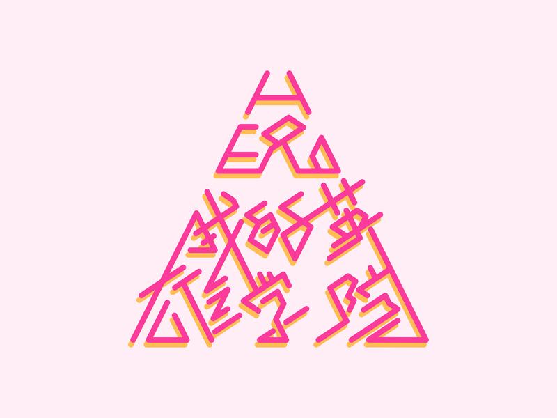 我的英雄学院 My Hero Academia logo illustration design