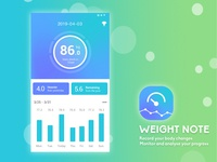 App UI Design-Weight Note