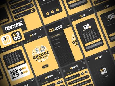 App UI Design - QR CODE