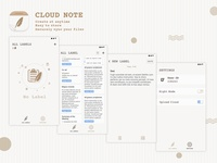 CLOUD NOTE