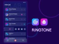 UI Design - Ringtone APP