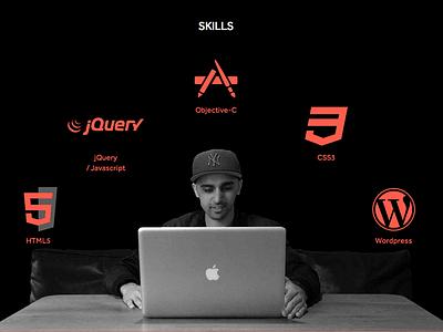 Portfolio site update portfolio css3 svg animation responsive