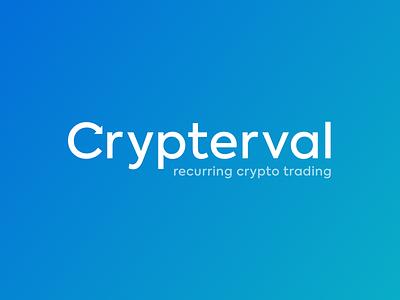 Crypterval crypto branding logo