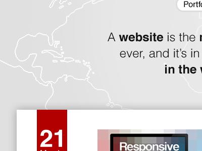 Portfolio Redesign WIP minimal clean website portfolio simple