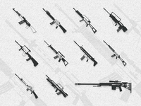 Icon-Ten famous guns in the world