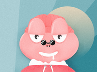 Pink Frog