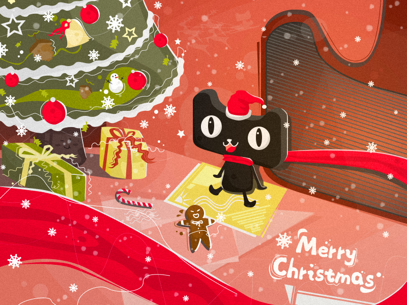 Merry Christmas illustrations illustration