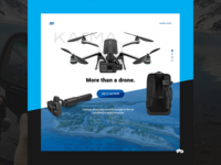 Gopro Karma Product Page Concept Design