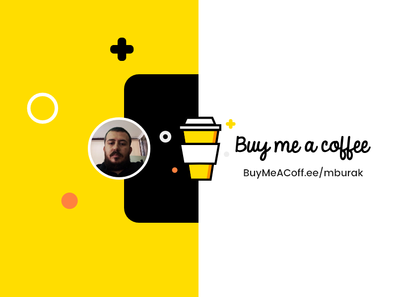 Buy Me Coffee coffee pay profile project stratup ux ui