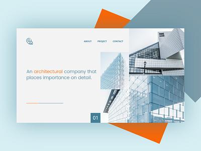 Architecture Web Page responsive flat design website architecture web ux ui