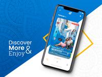 Destination Travel App Concept