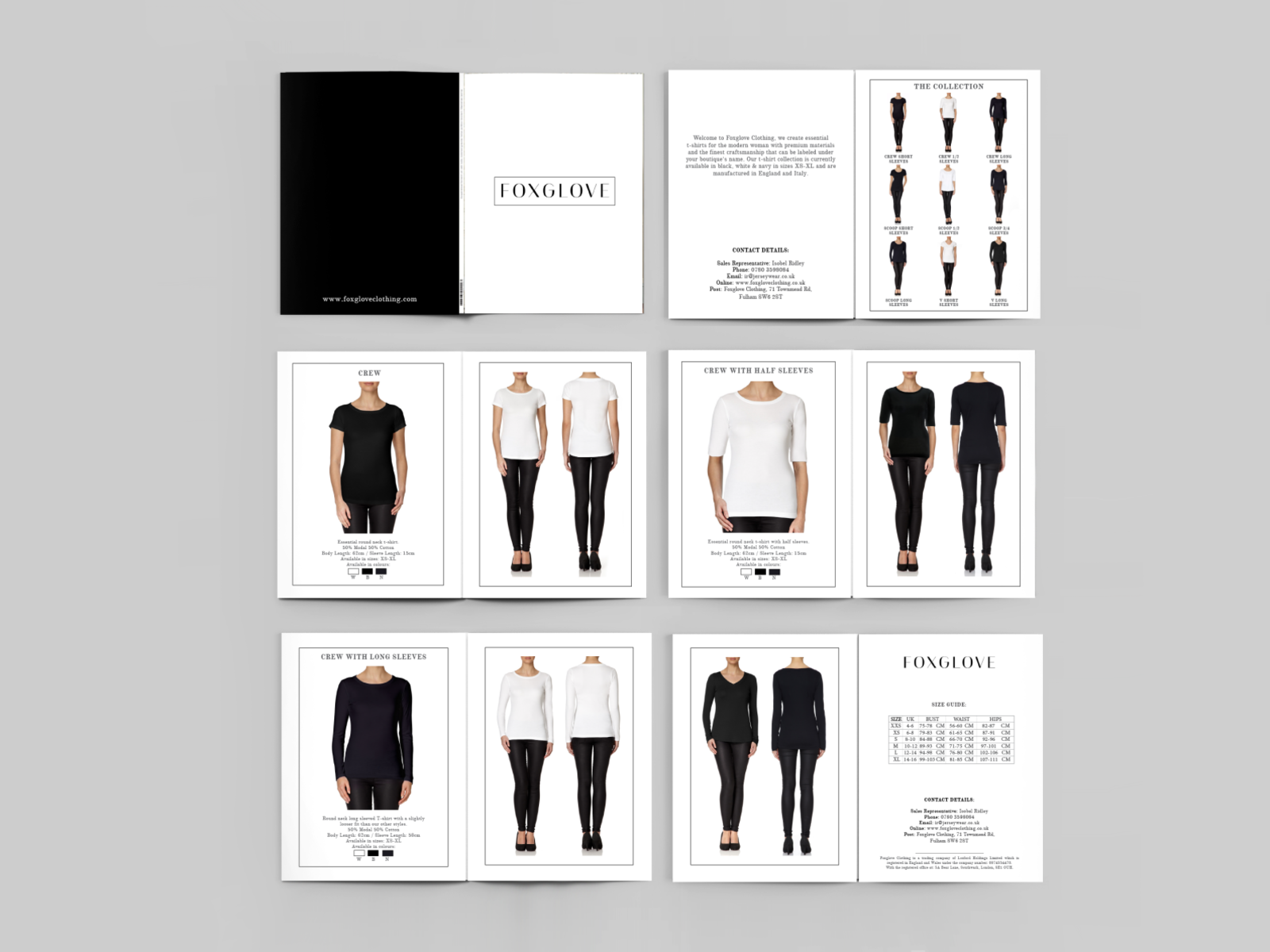 Foxglove Lookbook Design By Lina And Arnold 9 Ideas On Dribbble