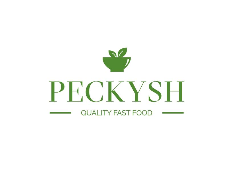 Peckysh - Logo Design branding design brand designer brand design minimalism minimal graphic design 9inchideas graphics brand identity branding logo concept food food logo green logo logo makers logo designer logo design logotypes logos logo