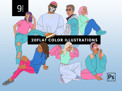 ILLUSTRATIONS   Dope Hand Drawn Pack street style vibrant illustrations vibrant colour trends trending design trending graphics stylish illustration fashion illustrator dope illustrations 9inchideas hand drawn handmade draw drawing challenge drawingart drawing illustration art illustration illustrations illustrator