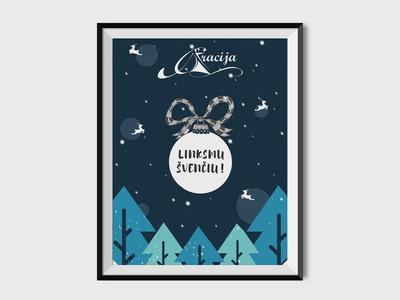 Gracija -Christmas Poster