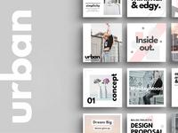 Malisu - Urban Social Media Pack
